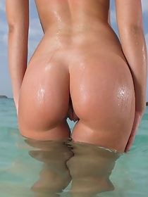 Hot ass at the beach