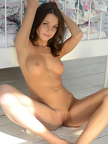 Really Cute Brunette Teen
